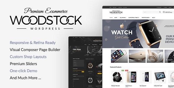 Woodstock 1.9.9.6 - Electronics WooCommerce Theme